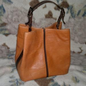 کیف دوشی زنانه چرم کد y101